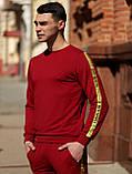 Мужской  спортивный костюм Off White красного цвета лето/осень 2020, фото 6