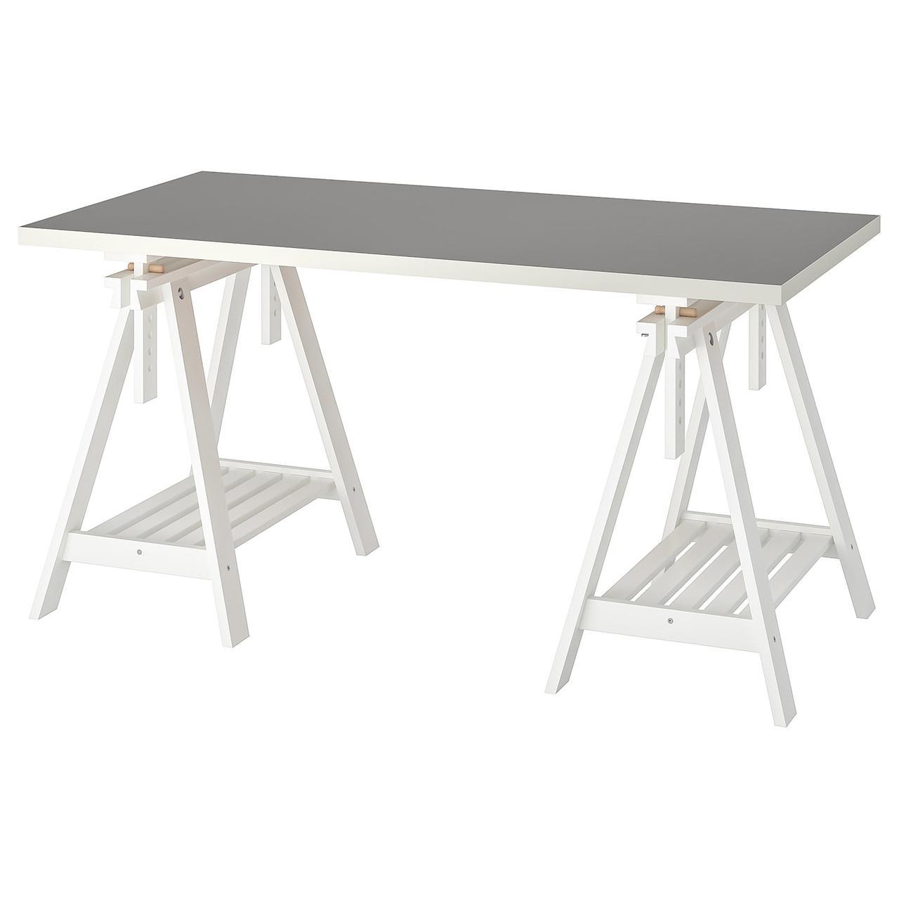IKEA LINNMON / FINNVARD Стол, 150x75 см