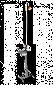 Стойка с держателем для шланга,краном и садовым душем, AG8301