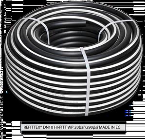 Шланг высокого давления REFITTEX 20 bar 10*2,5 мм, 25м, RH20101525