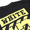 Свитшот осень-зима черный с желтым OFF-WHITE №13 BLK L(Р) 19-503-003-001, фото 6