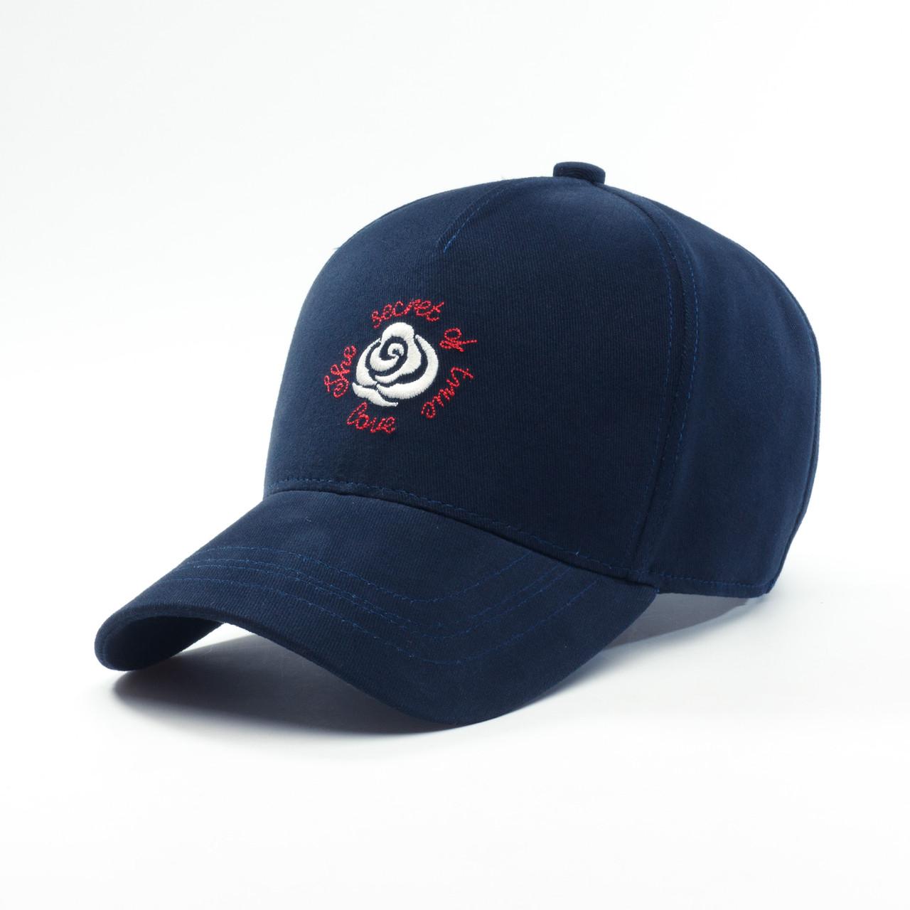 Детская кепка бейсболка для девочки 3-16 лет INAL rose XS / 51-52 RU Синий 241551