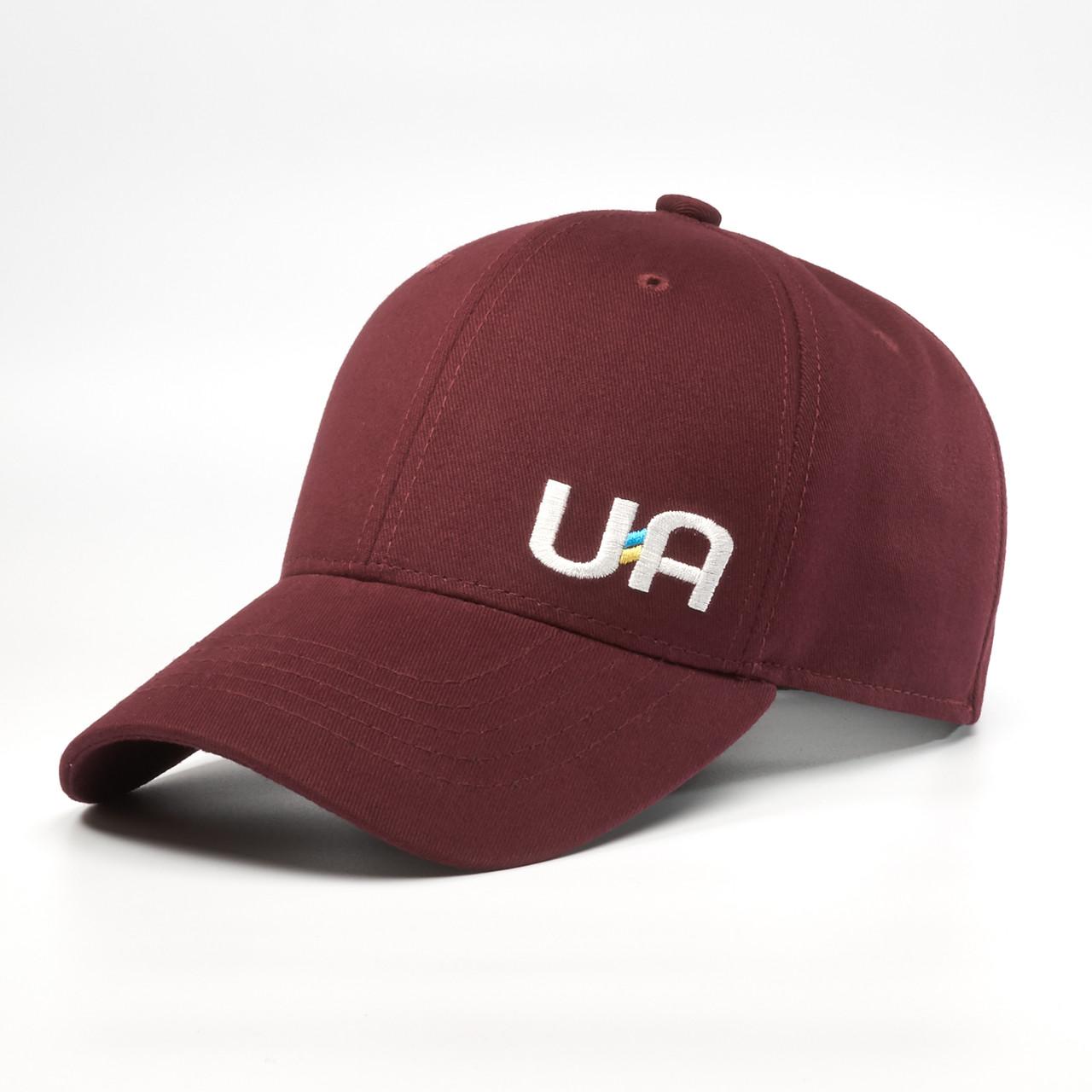 Детская кепка бейсболка INAL с cимволикой Украины XS / 51-52 RU Бордовый 249451