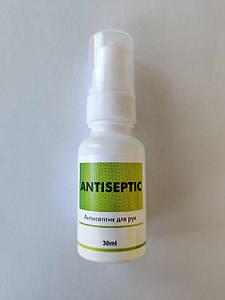 Антисептик дезинфектор для кожи рук Antiseptic 30 мл.