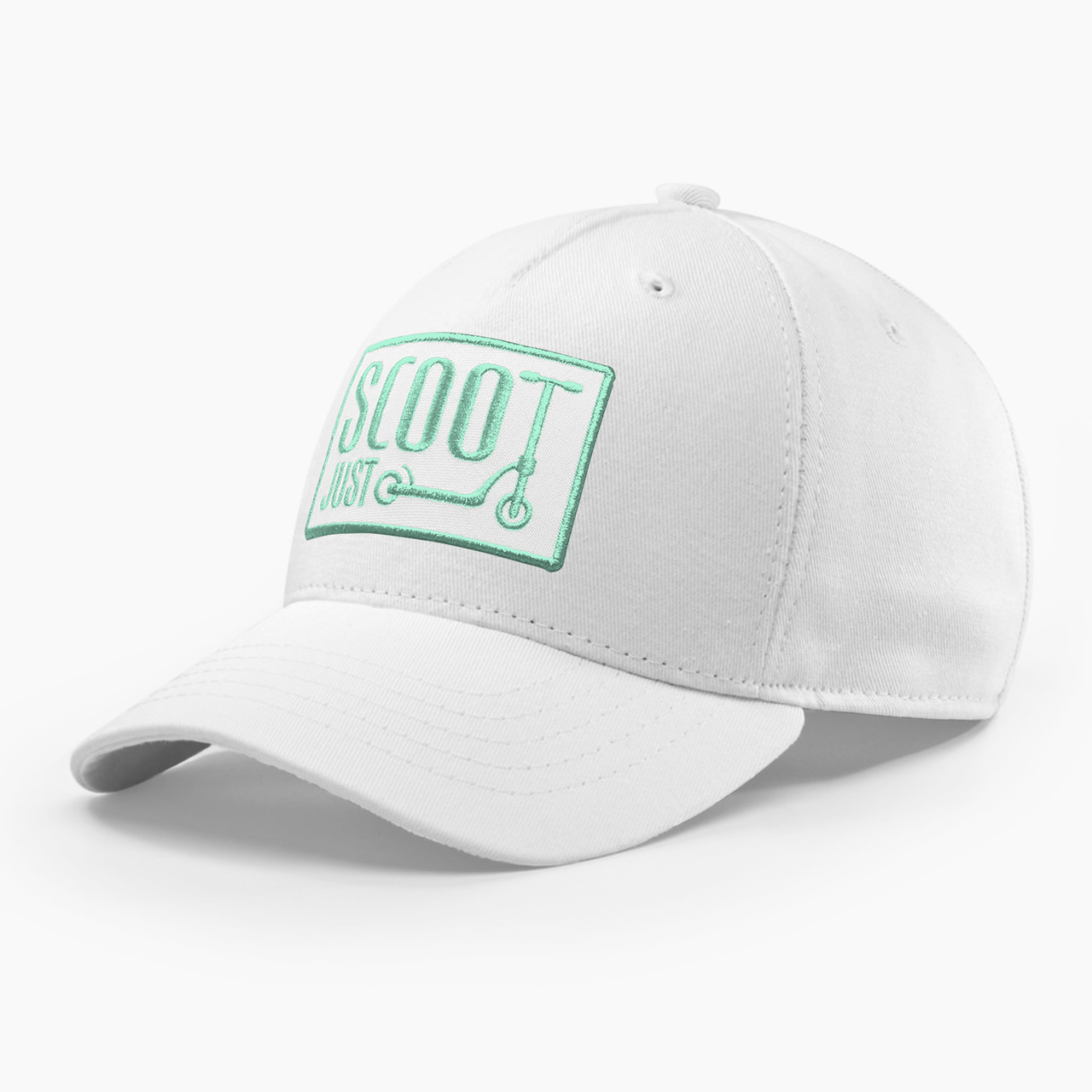 Детская кепка бейсболка для девочки 3-16 лет INAL kick scooter XS / 51-52 RU Белый 231451