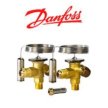 Терморегулювальні клапани Danfoss T2 і TE2