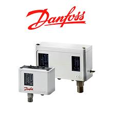 Реле тиску і температури (пресостати) Danfoss KP