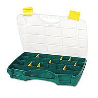 Органайзер пластиковый Tayg Box 24-26 для метизов,с мобильными перегородками 46х35х8,1см (024009)