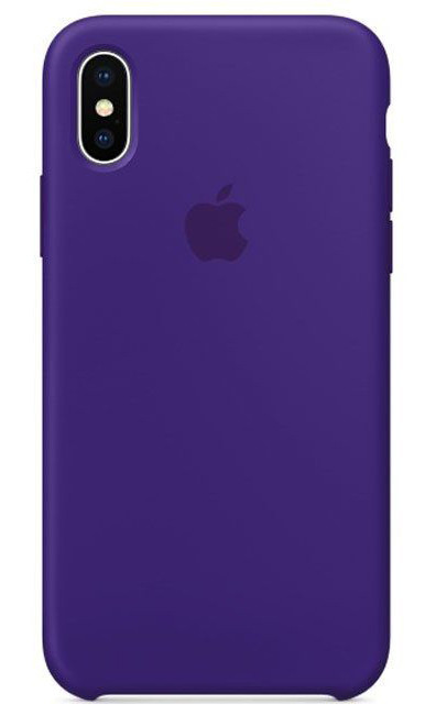 Задняя накладка Hi-Copy Silicone Case APPLE IPHONE X | XS (№30 ULTRA VIOLET)