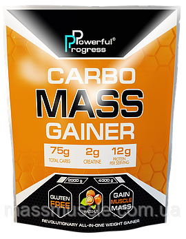 Гейнер Powerful Progress Carbo Mass Gainer 2000g