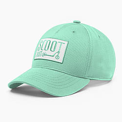 Женская кепка бейсболка INAL kick scooter S / 53-54 RU Зеленый 232553