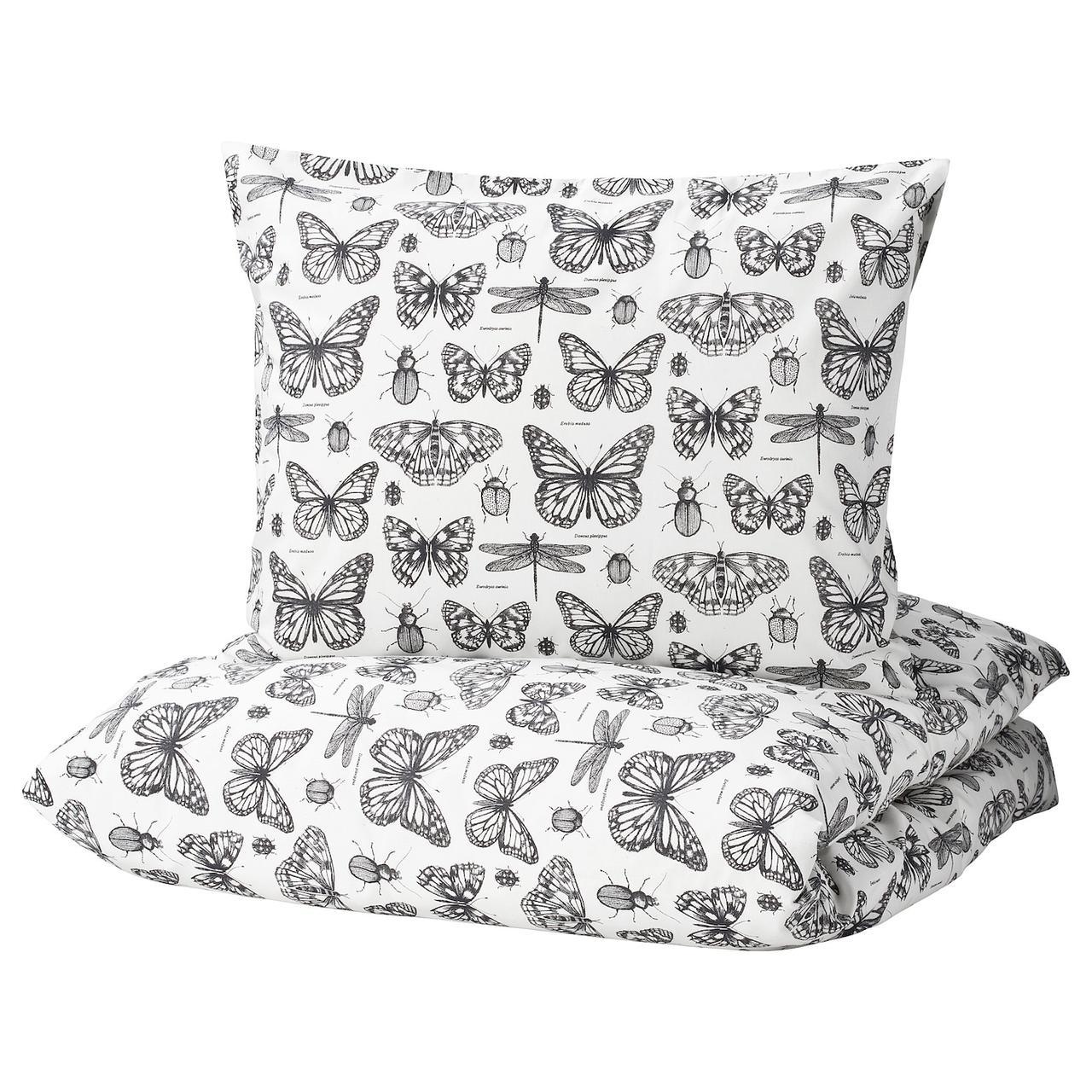 IKEA SOMMARMALVA Комплект постельного белья, 150x200/50x60 см