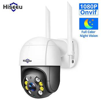 WiFi видеокамера Hiseeu WHD812 (2MP, PTZ, IP)