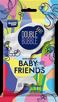 """Губка для бані дитяча массаж. """"Baby Friends"""" ФБ №9056"""