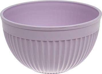 """Салатник пласт. 23,5 см """"Bager"""" фіолет. №BG-443/L/31896"""