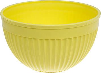 "Салатник пласт. 23,5 см ""Bager"" Yellow №BG-443Y/31919"