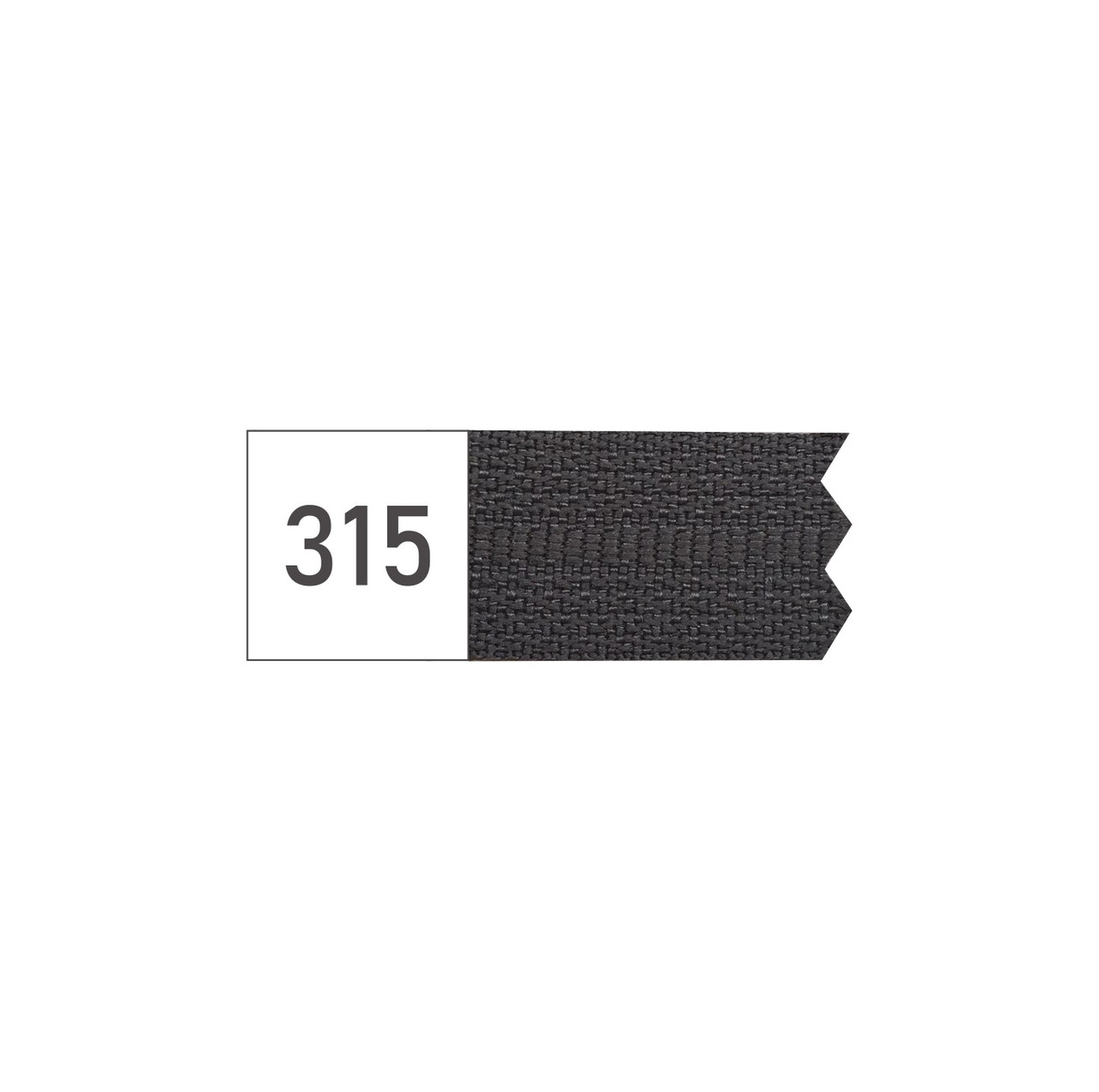 Молния спиральная №3 рулонная S-315 серый темный  (рул 200м) ZIP