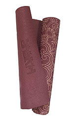 Йога-килимок LiveUp PVC PRINTED YOGA MAT
