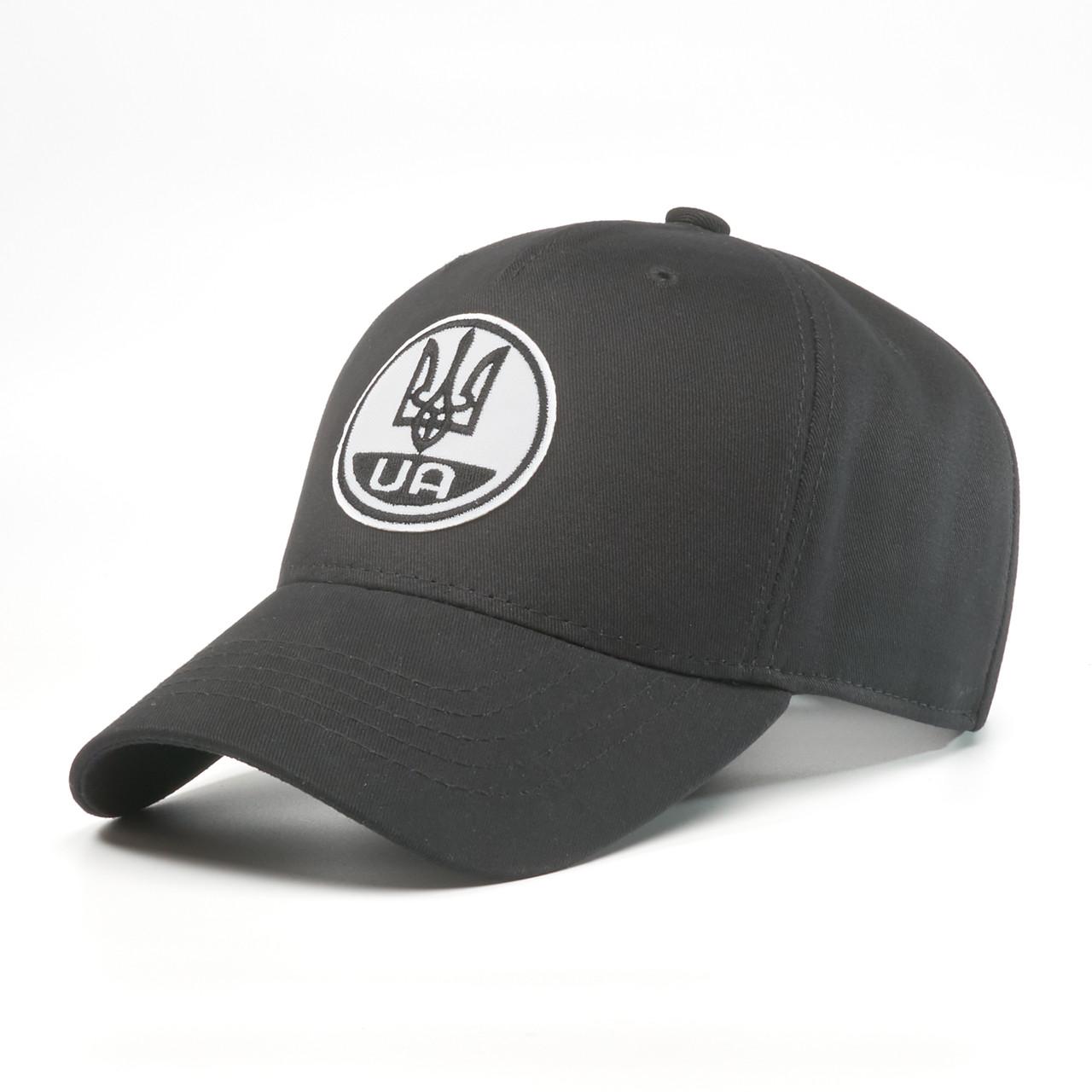 Детская кепка бейсболка INAL с гербом Украины XS / 51-52 RU Черный 249551