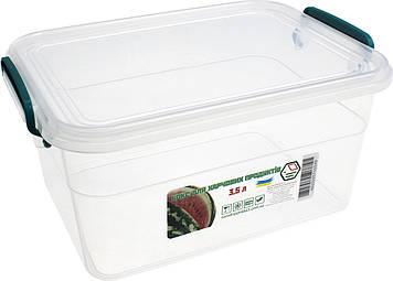 Контейнер для харч. прод. 3,5 л з ручками 17,8х25х12,4см №NP-55/0549(30)