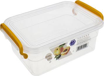 Контейнер для харч. прод. 0,95 л з ручками 12х17,6х7,5см №NP-56/0129