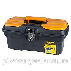 Ящик для инструмента (металлические замки) 434×239×194мм Sigma (7403661)