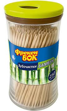 """Зубочистки бамбук 250шт """"ФБ"""" №5829(12)"""
