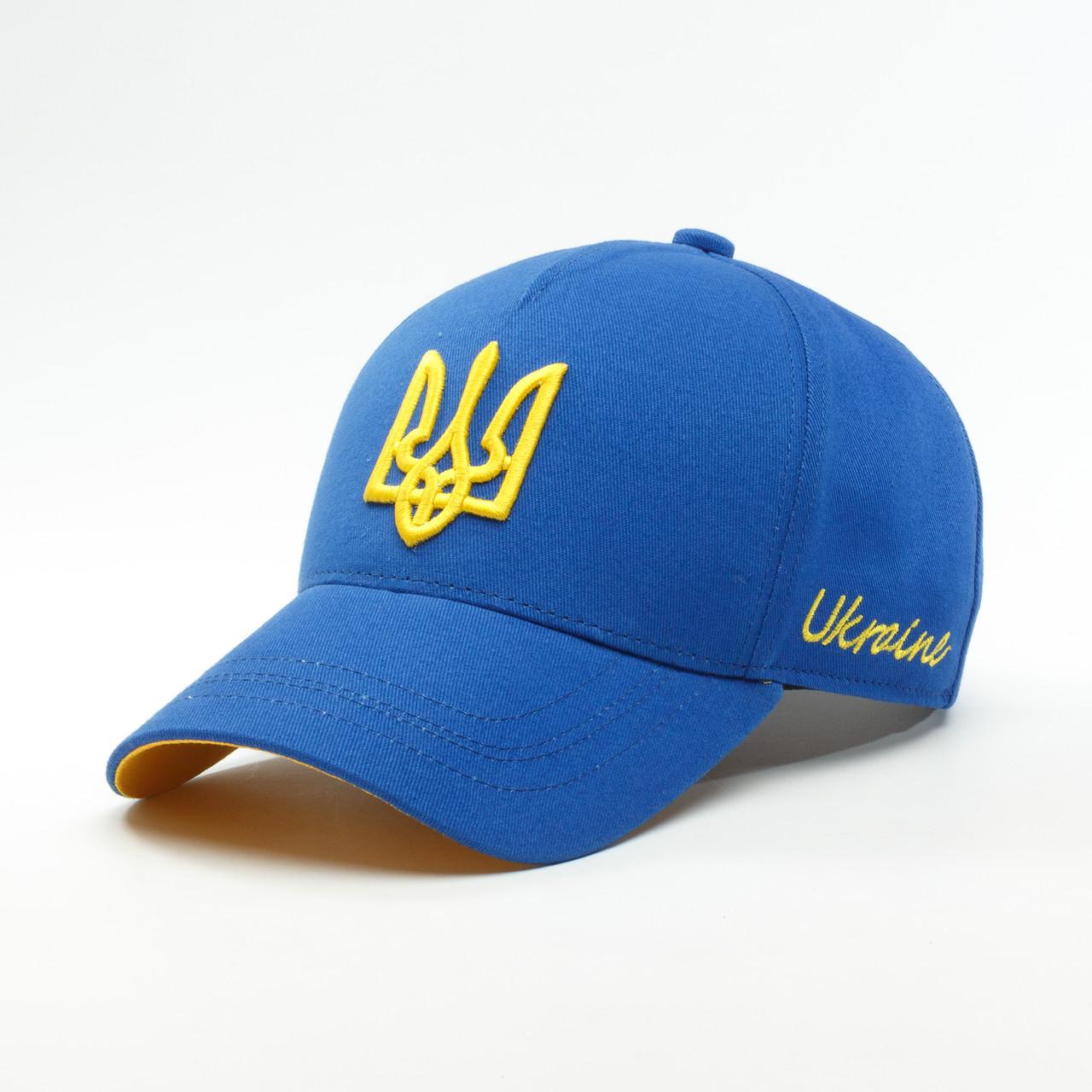 Детская кепка бейсболка INAL с гербом Украины XS / 51-52 RU Cиний 245951