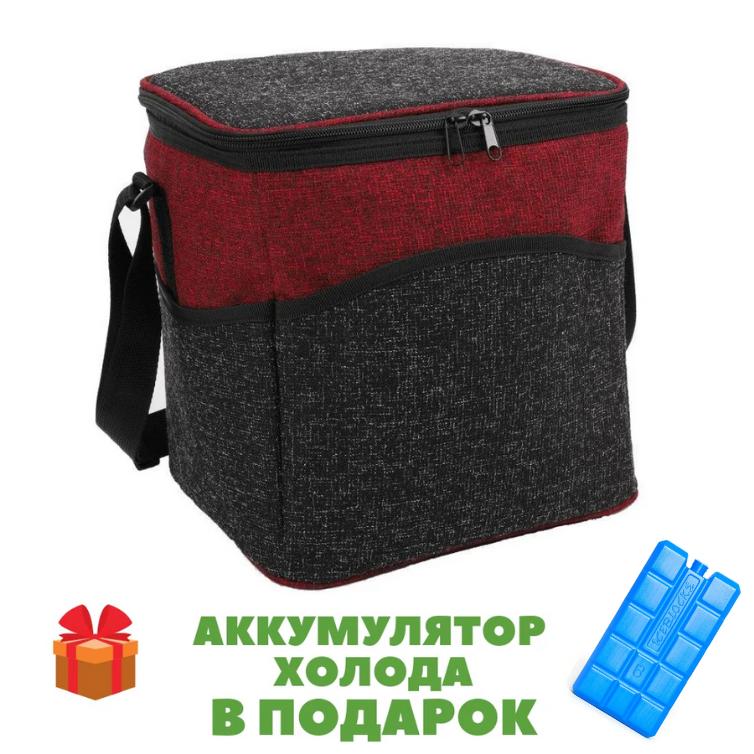 Термосумка 15л 24x28x27см сумка холодильник Time Eco 4015 🏕️