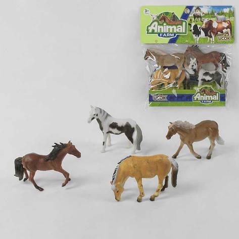 Набор лошадей 3N 504001 (60/2) в кульке, фото 2