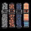 Оригинальный силиконовый ремешок для Amazfit Bip черно-оранжевый (A17263), фото 3
