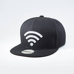 Кепка бейсболка мужская INAL wi-fi L / 57-58 RU Черный 95157