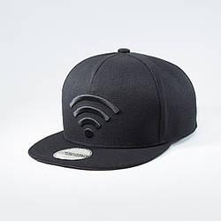 Кепка бейсболка мужская INAL wi-fi L / 57-58 RU Черный 132757