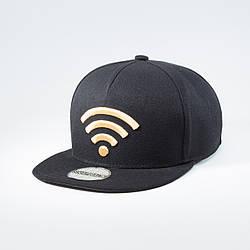 Кепка бейсболка мужская INAL wi-fi L / 57-58 RU Черный 135957