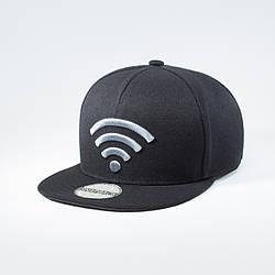 Кепка бейсболка мужская INAL wi-fi L / 57-58 RU Черный 137557