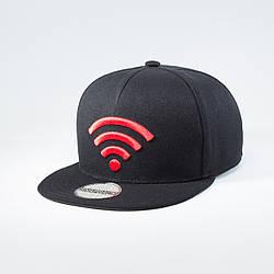 Кепка бейсболка мужская INAL wi-fi L / 57-58 RU Черный 137657