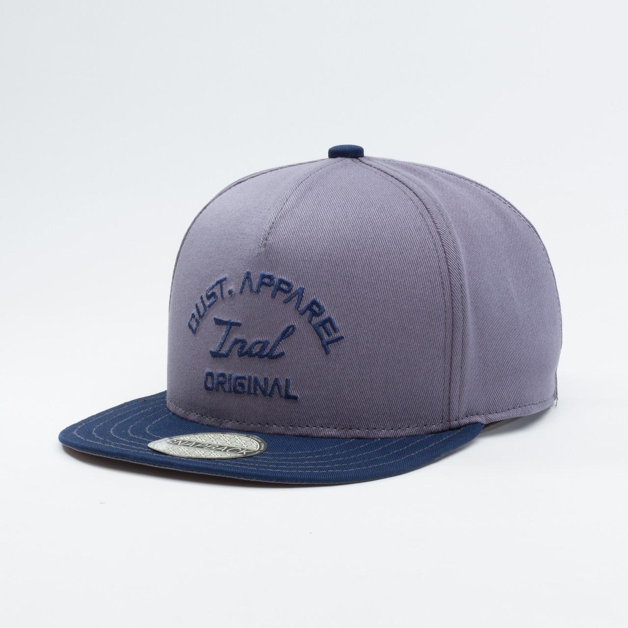 Детская кепка бейсболка для мальчика INAL original XS / 51-52 RU Серый 164951