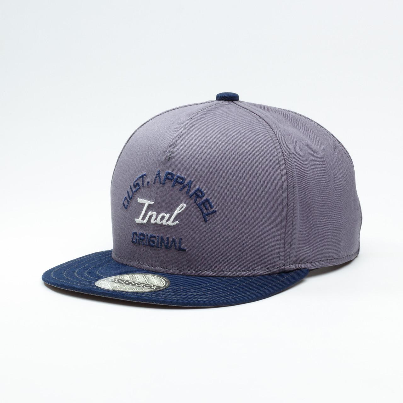 Детская кепка бейсболка для мальчика INAL original XS / 51-52 RU Серый 181451