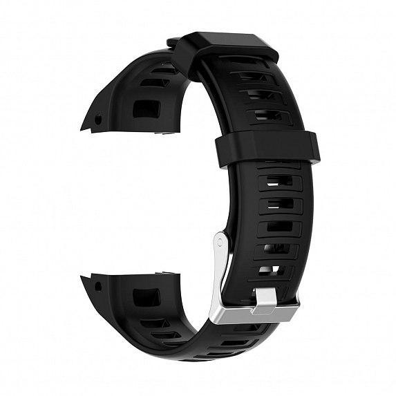 Силиконовый ремешок для GARMIN Instinct Smooth Silicone Band Black