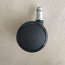 Колеса полиуретановые для офисного кресла 11мм. (5 шт.), фото 3