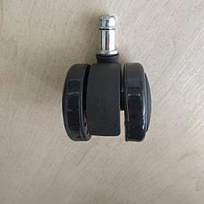 Колеса полиуретановые для офисного кресла 11мм. (5 шт.), фото 2