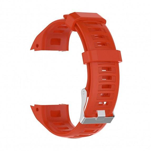 Силиконовый ремешок для GARMIN Instinct Smooth Silicone Band Red