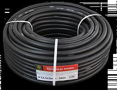 BRADAS Шланг технический BLACK 12,5 х 3мм, 17 bar, TH12,5*3BK
