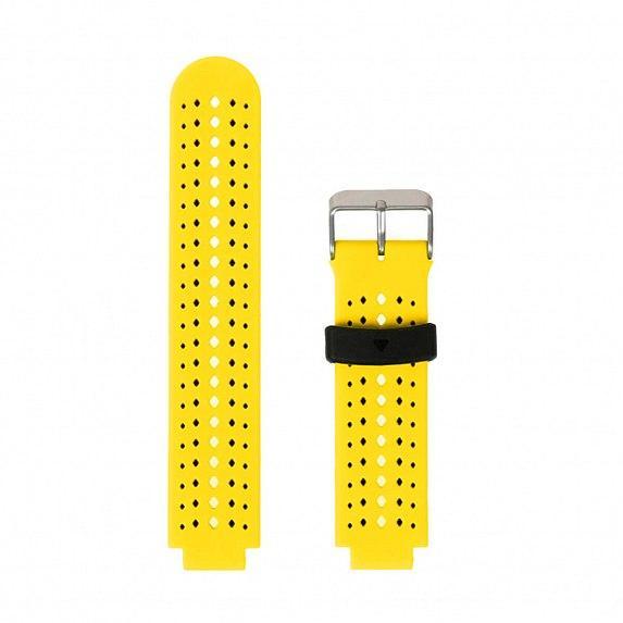 Силиконовый ремешок для GARMIN Universal 16 2Colors Silicone Band Yellow/Black