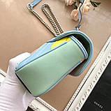 Сумка, клатч Гуччи Marmont натуральная кожа  25 см, фото 4