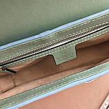 Сумка, клатч Гуччи Marmont натуральная кожа  25 см, фото 7