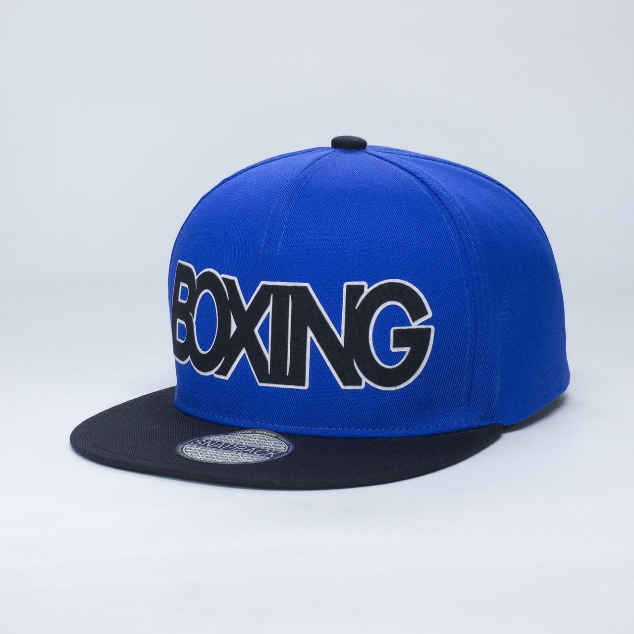 Детская кепка бейсболка для мальчика 3-16 лет INAL boxing XS / 51-52 RU Cиний 59951