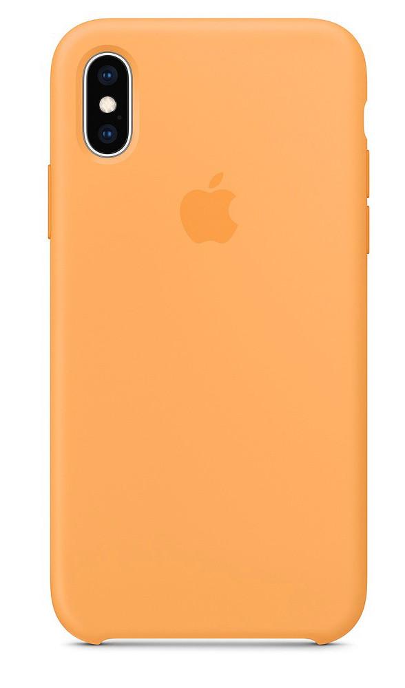 Задняя накладка Hi-Copy Silicone Case APPLE IPHONE X | XS (№56 PAPAYA)