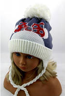 Шапка Д150 детская для девочки, фото 1