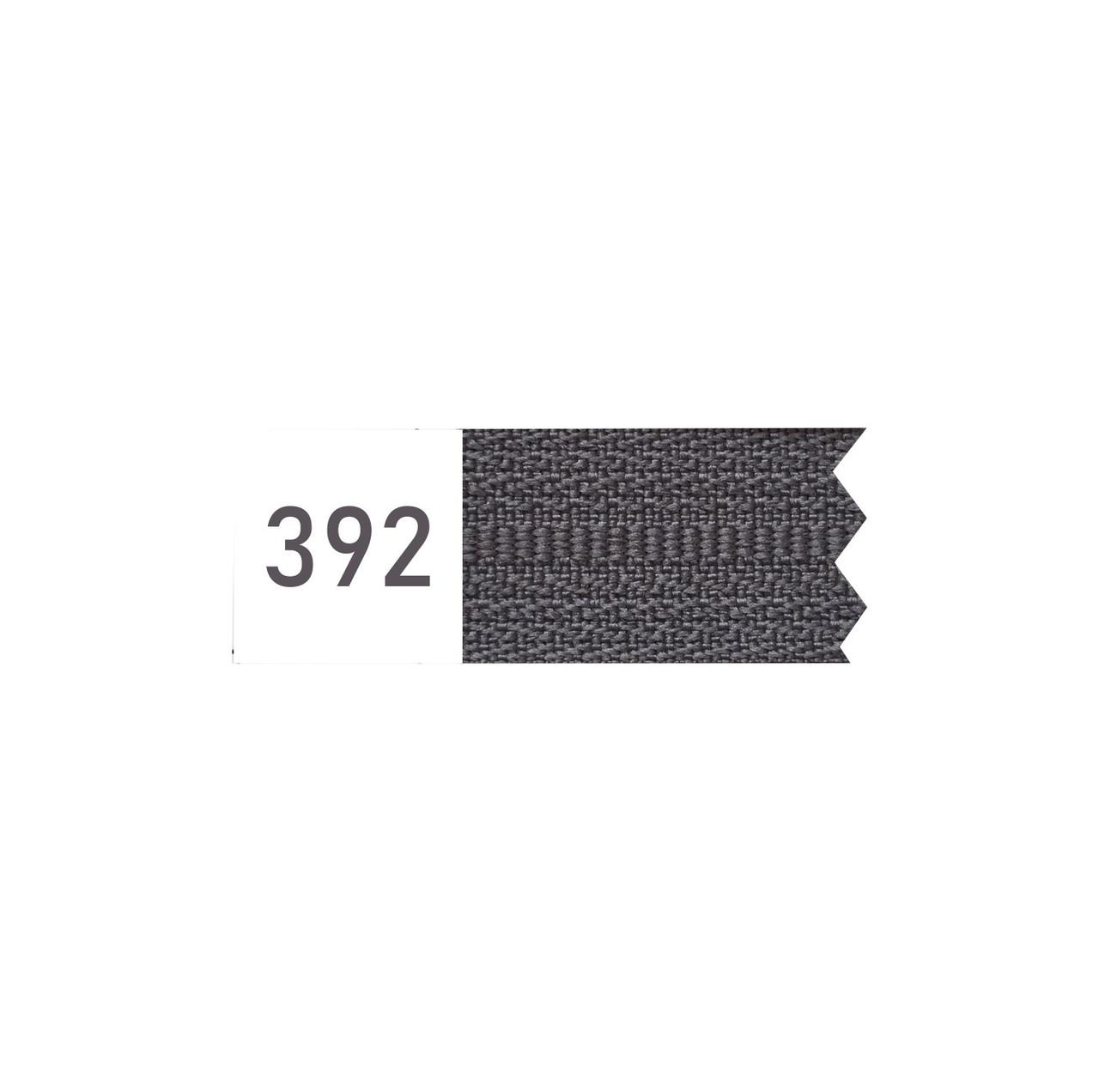 Молния спиральная №4 рулонная S-392 серый темный (рул 200м) ZIP
